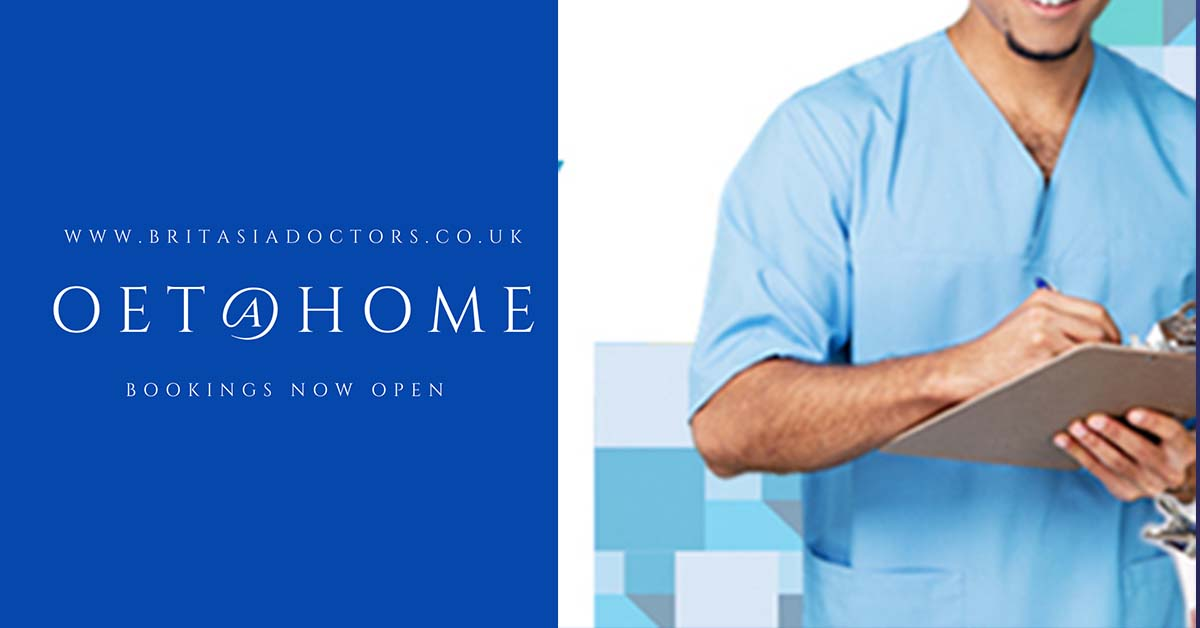 Bookings now open for OET@HOME